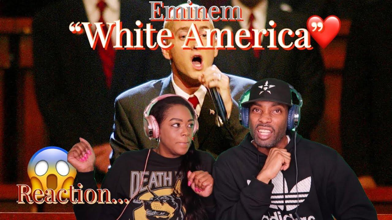 """EMINEM """"WHITE AMERICA"""" REACTION   Asia and BJ"""