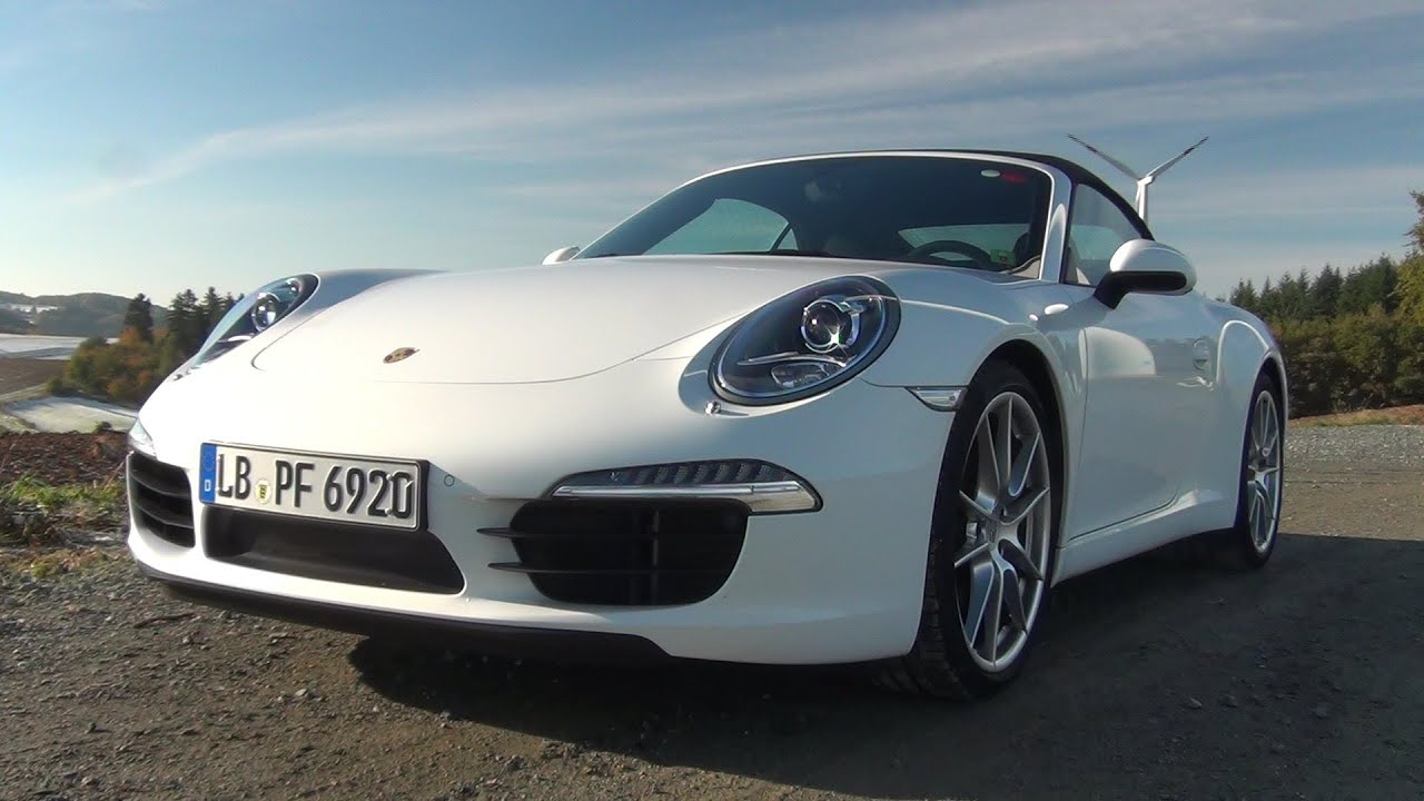 2012  2013 Porsche 911 991 Carrera S PDK  Test Drive  Review