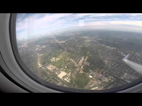 Taking off from Lambert Field (St. Louis International Airport) May 30, 2014