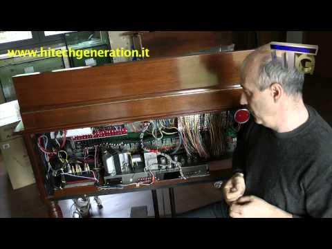 Restauro di uno storico organo Hammond B3