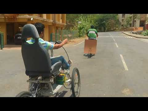 Cruise control in human pedalled vehicle at IIT Bombay