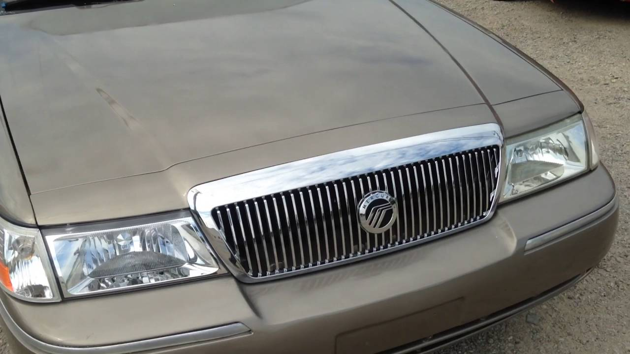 hight resolution of grand marquis front end repair