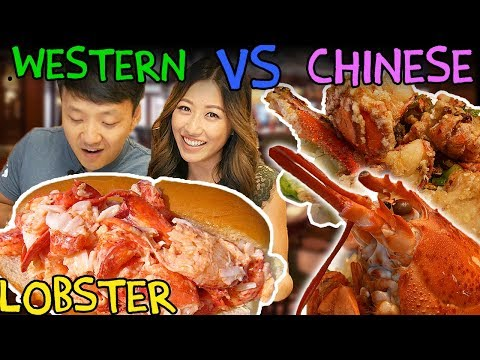 Western Style LOBSTER VS. Chinese Style LOBSTER: BOSTON Lobster Tour thumbnail