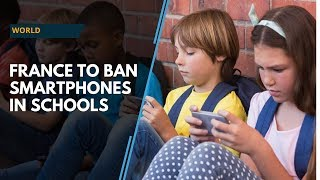 France to ban smartphone use in schools