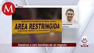 Multihomicidio en negocio de pajaretes de Tlajomulco