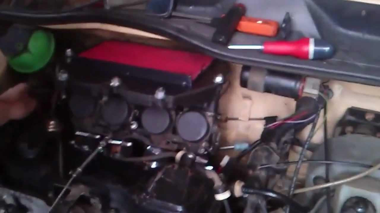 Vw Golf Mk1 1 6 Cbr 600 Bike Carbs Gti Camshaft Youtube
