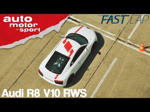 Audi R8 RWS: Ohne Quattro, aber mit Vergnügen? - Fast Lap | auto motor und sport