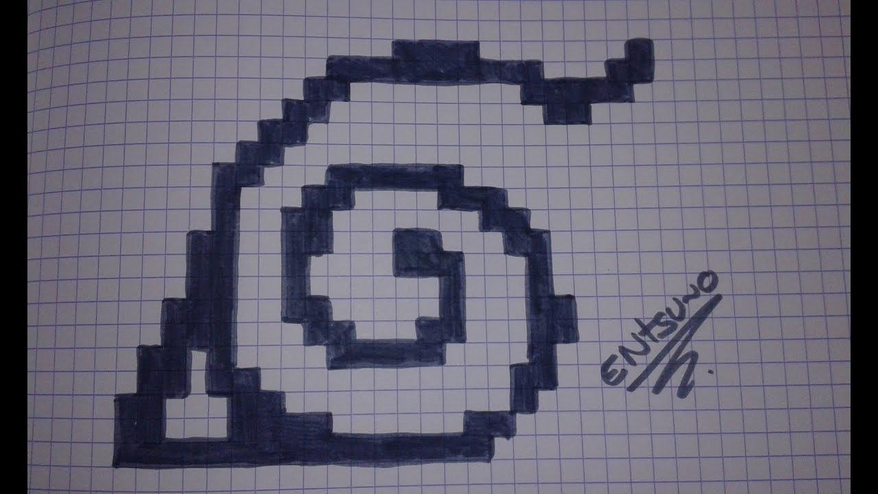 Comment Dessiner Le Logo De Naruto En Pixel Art Tuto