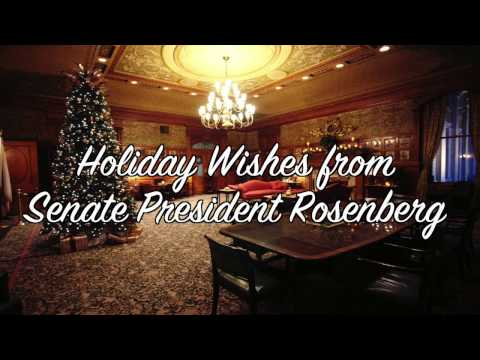 Holiday Message from the Senate President