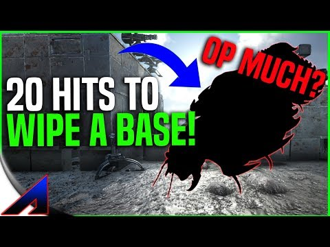 Testing *NEW* Arthropleura Buff That Wipes Bases! No More C4! | ARK: Survival Evolved
