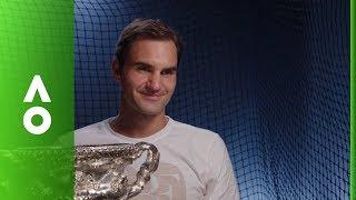 Roger Federer post match interview (F) | Australian Open 2018