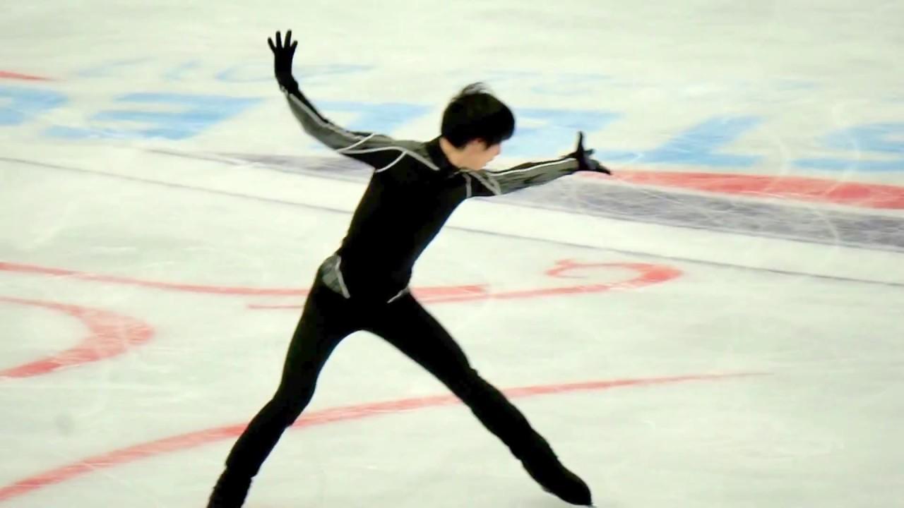 Rostelecom Cup 2017 practice Yuzuru Hanyu「SEIMEI」 - YouTube