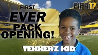 FIFA 17 PACK OPENING!! | My First Ever Packs!! | Tekkerz Kid