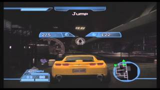 Transformers: The Game - Bumblebee in Hoover Dam - Part 4 [No Commentary]