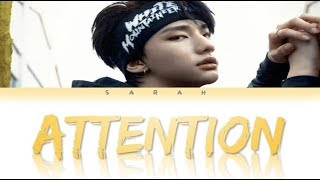 Gambar cover Hyunjin (현진) - Attention (English Colour Coded Lyrics)