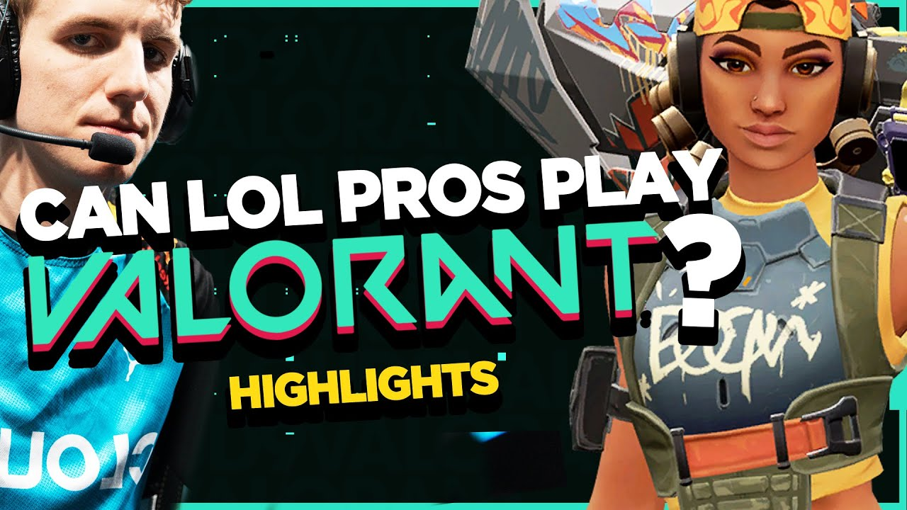 Can LoL PROS Play VALORANT?! | Cloud9 LoL Plays VALORANT – Highlights and funny moments!