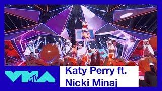 Katy Perry ft. Nicki Minaj 360° Performance of 'Swish Swish'   2017 VMAs   MTV