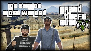GTA 5 Online | Los Santos Most Wanted | #1 GETAWAY DRIVER