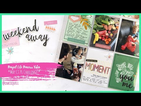 Project Life Process Video *MAY CITRUS TWIST* + + + INKIE QUILL