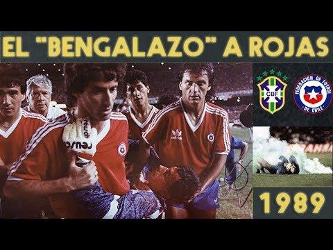 """BRASIL-CHILE Y El """"BENGALAZO"""" A CÓNDOR ROJAS (1989) 🔥🤕"""