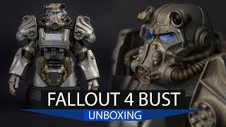 Fallout 4 T-60 Power Armor Bust Unboxing