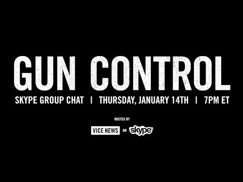 Join VICE News' Skype Group Chat About Gun Control