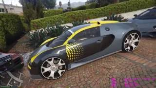 Carros de LUXO em GTA V pc GTX970 g1