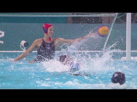 Women's Water Polo Preliminary Round - HUN v USA | London 2012 Olympics