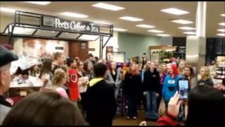 Children caroling in Klamath Falls Fred Meyer - Dec 18th, 2014