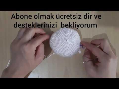 Amigurumi Yenidoğan Bebek Anahtarlık Yapımı - Örgü Modelleri | 360x480