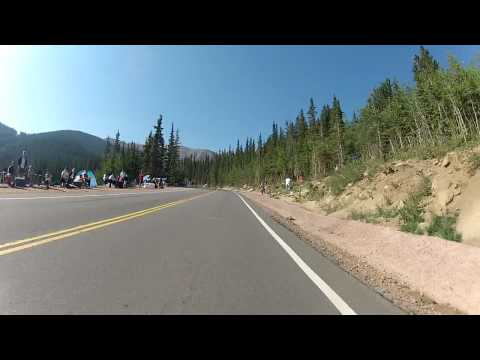 2012 Marty Hester Pikes Peak Hill Climb on a Honda RS 125
