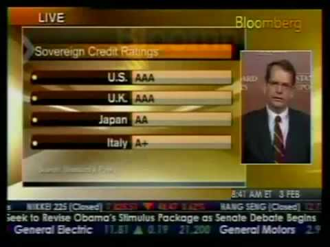U.S. Credit Rating Slip to Same Level as Slovenia or Bermuda?