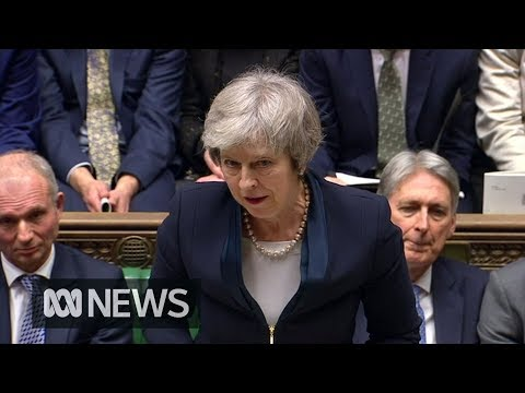 British Parliament overwhelmingly rejects Theresa Mays Brexit deal | ABC News