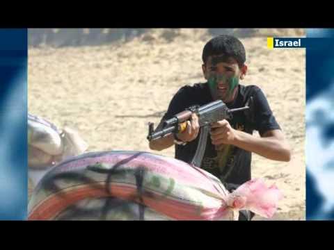 Gaza kids attend summer terror camp: Palestinian children taught to kidnap Israeli soldiers