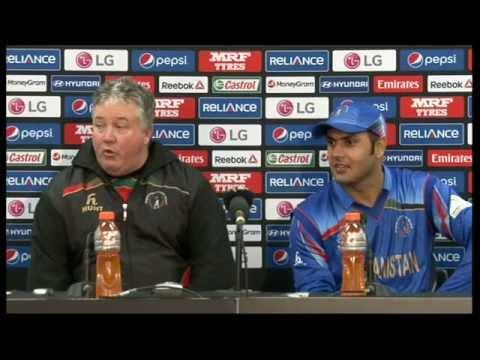 Live Post-Match Press Conference England v Afghanistan, Sydney