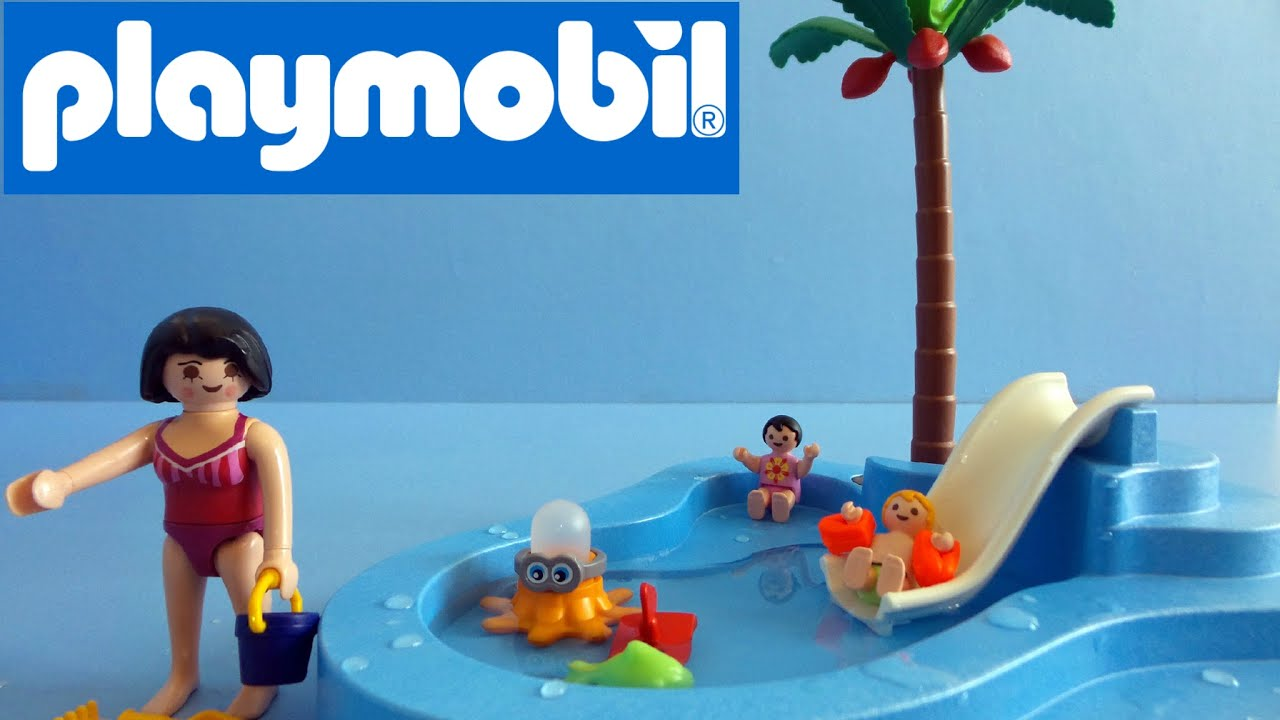 Playmobil Swimming Pool Summer Fun 6673 Unboxing Playmobil Nederlands Youtube