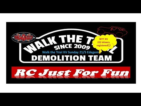 Walk the trial #15 - Demolition Team - A radio control world
