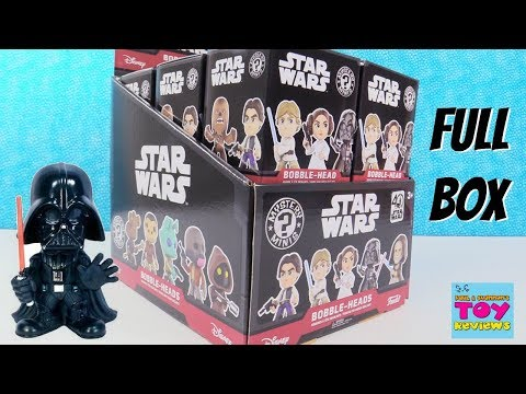 Star Wars Funko Mystery Minis Bobble Heads Vinyl Figures Box Opening | PSToyReviews
