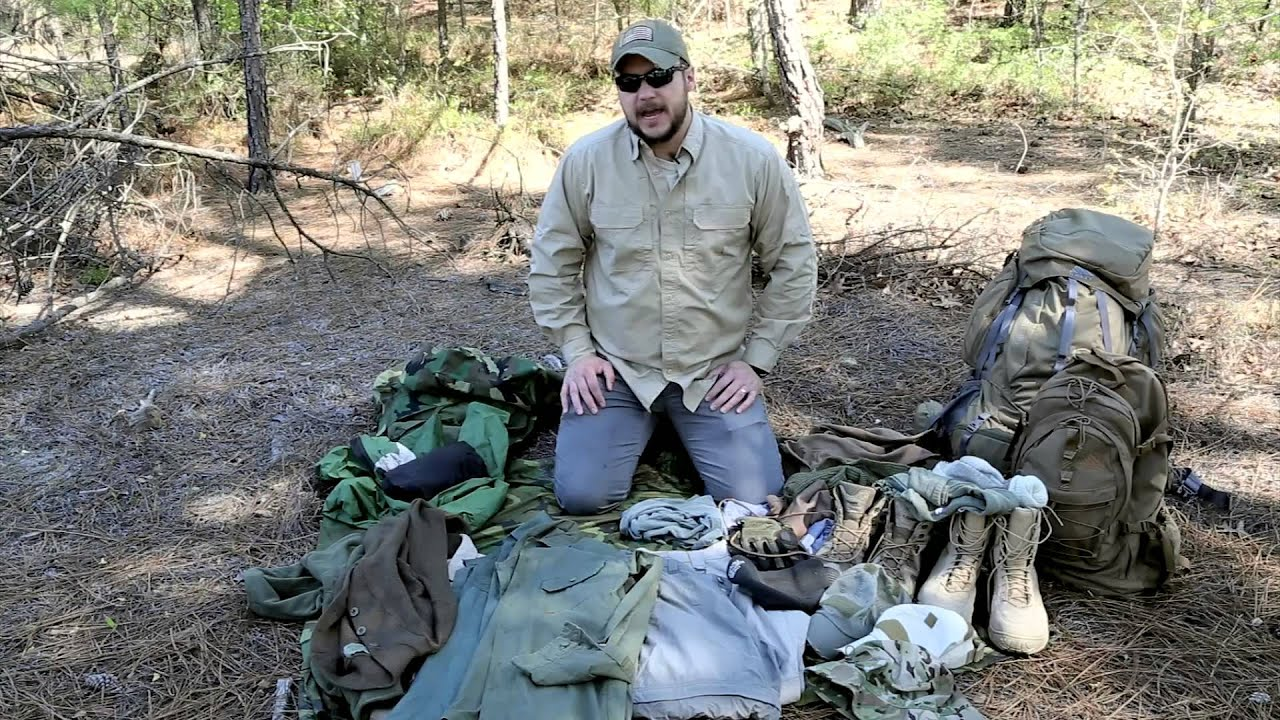 Black Scout Tutorials Bugout Clothing What To Wear When