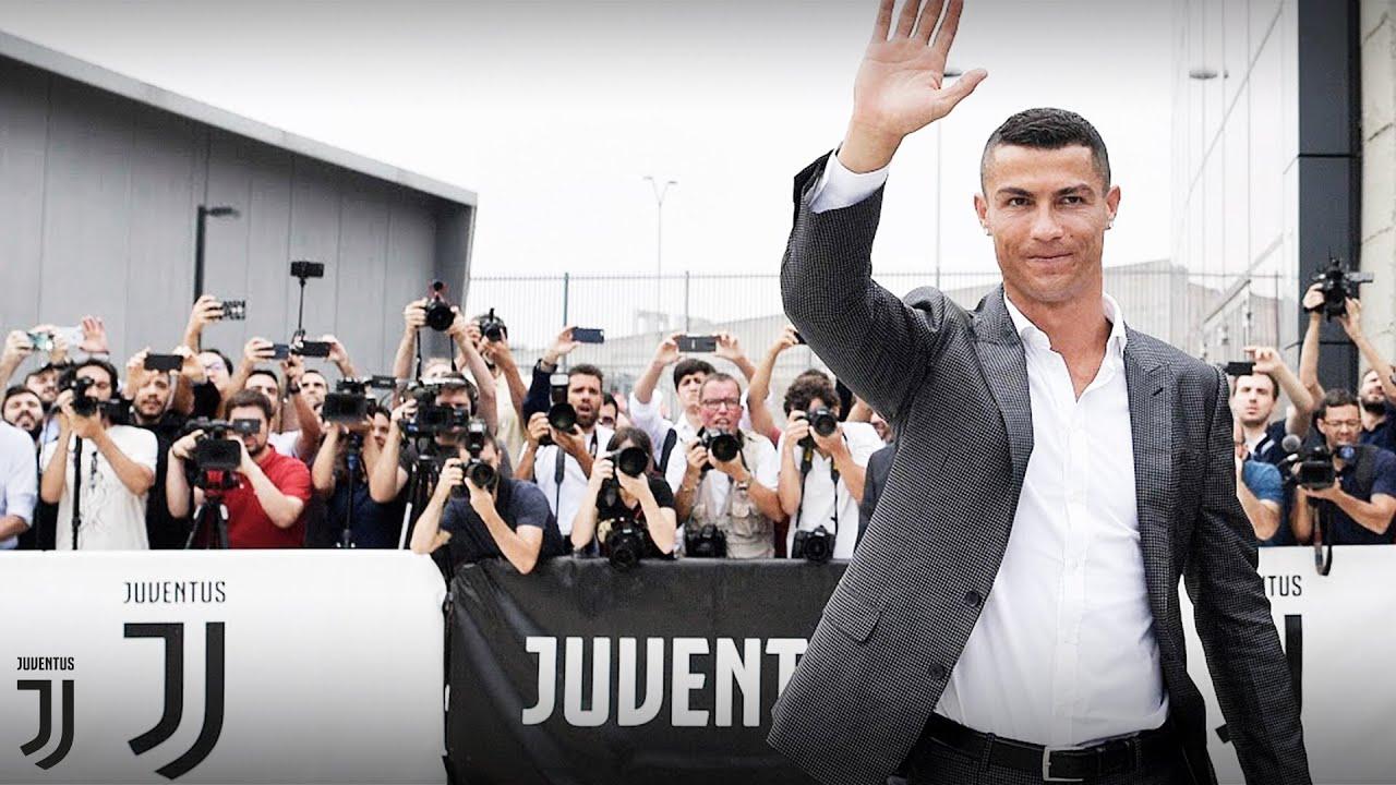 Cristiano Ronaldo arrives at J|Medical