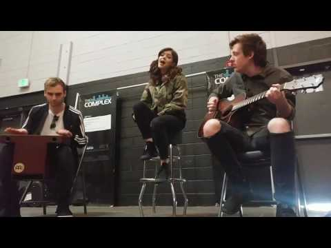 Against the Current  In Our Bones acoustic  salt lake city