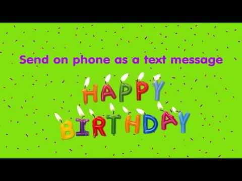 happy birthday to send on your phone mms