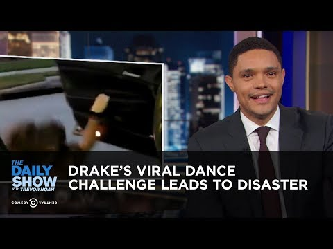 Daily Show vs. Drake's Viral Shiggy Dance Challenge Leads To Disaster
