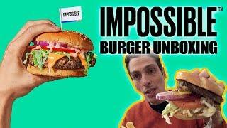 IMPOSSIBLE BURGER novità CES 2019 Assaggio e Unboxing Vegan