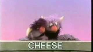 Classic Sesame Street - 2-headed Monster: CHEESE