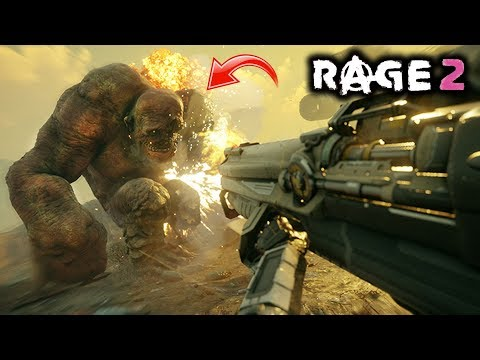 RAGE 2 - New Gameplay! In-Depth Breakdown of Trailer! Walkthrough of Features!