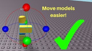 How to rotate models easier on Roblox studio