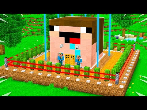 Never Break into Noob1234's Impossible Minecraft House!