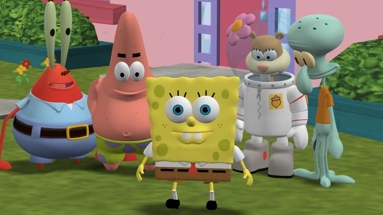 The Simpsons Hit & Run - SpongeBob SquarePants Rehydrated 5-Pack Mod