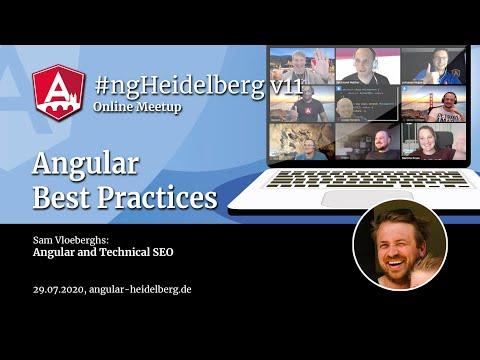 Thumbnail for #ngHeidelberg v11 with Sam Vloeberghs: Angular and Technical SEO